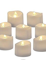 Недорогие -Реалистичный романтический яркий мерцающий шарик на батарейках беспламенный свеча светодиодный чай для сезонного праздника