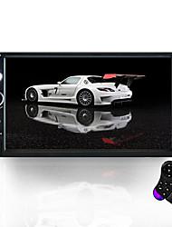 Недорогие -7023b 7inch hd авто радио автомобильный мультимедиа плеер автомобильный mp5 плеер с сенсорным экраном bluetooth usb камера заднего вида