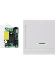 Недорогие -AC220V 1-канальный беспроводной пульт дистанционного управления переключатель системы / приемник RF передатчик 1 кнопка дистанционного 433,92 МГц