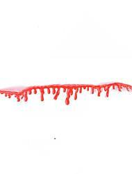 Недорогие -1 шт. Ожерелье хеллоуин костюм ну вечеринку ожерелье цвета ожерелье ярко-красный кровотечение воротник тяжелое ожерелье