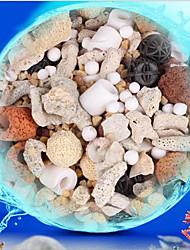 Недорогие -Чистка Аквариумы Наполнитель фильтра Компактность Твердый Специальный материал Природный камень