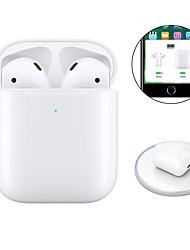 Недорогие -Оригинальные i800 tws истинные беспроводные наушники Bluetooth 5.0 для наушников Беспроводная зарядка qi Inear Check Автоматическое обнаружение слуха Воспроизведение и пауза всплывающее окно с IOS