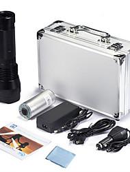 Недорогие -1 HID фонари 2000 lm Ксенон - излучатели 3 Режим освещения с батареей и зарядными устройствами Тактический Водонепроницаемый Масштабируемые / Алюминиевый сплав
