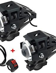 povoljno -motocikl električni automobil modificirana svjetiljka led lampica u5 transformatori laserski topovi prednja svjetla s jakim svjetlom slabo svjetlo bljeskalice 2kom