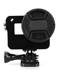 Недорогие -Гладкая Рамка Съемная Защита Простота установки Для Экшн камера Gopro 6 Gopro 5 Разные виды спорта Путешествия Мотобайк Алюминиево-магниевый сплав