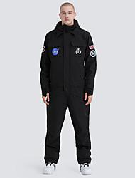 billige -GSOU SNOW Herre Dame Skidress Vanntett Vindtett Varm Ski Camping & Fjellvandring Vintersport polyster Joggedress Skiklær