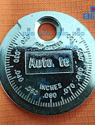 billige -1 stk tennplugggapsmålerverktøy måling av myntype 0,6-2,4 mm tennpluggavstand