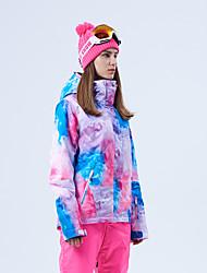 Недорогие -GSOU SNOW Жен. Лыжная куртка Лыжные очки Лыжи Зимние виды спорта Зимние виды спорта Полиэфир Верхняя часть Одежда для катания на лыжах / Зима