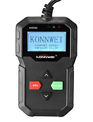 Недорогие -OBD OBD2 автомобильный сканер kw590 автомобиль диагностический инструмент сканер кода авто сканер