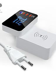 billige -nillkin smart plugg yc-cda31w for stue / studie / soverom smart / kreativ / trådløs lading kablet usb 100-240 v
