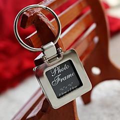 Classic Theme Keychain Favors Chrome Keychains-Piece/Set Wedding Favors