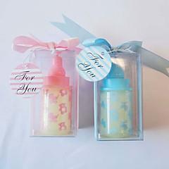 Baby Shower Party Favors & Gifts-4Stuk/Set Kaarsbedankjes Niet-gepersonaliseerd Roze / Blauw