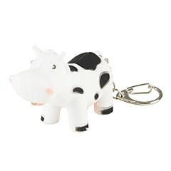 baratos Chaveiros-Cow Chaveiro LED, Fashion, Com Iluminação Para Presente