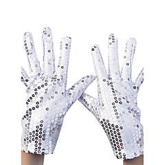 levne Party rukavice-nylonový zápěstí délka rukavice party / večerní rukavice s flitry elegantní styl
