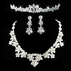 Women S Others Jewelry Set Earrings Necklace Tiaras Regular For Wedding Party Anniversary