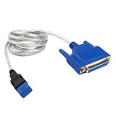 USB-Kabel parallel zu (blau, schwarz 1.5m)