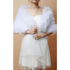 cheap Party Accessories-Sleeveless Tulle Wedding Party Evening Wedding  Wraps Shawls