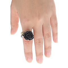 Prstýnky Dámské imitace drahokamu Slitina Slitina přátelství 5 ČernáBarva a styl se můžou lišit v závislosti na monitoru. Nezodpovídáme