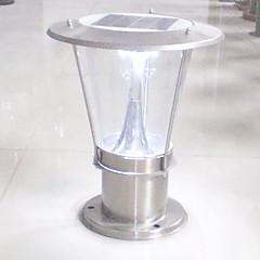 1.44W Modern RVS oplaadbare LED Solar kapiteel Light