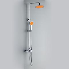 modern stílus krómozott zuhanyzó csaptelepek átmérője 24cm zuhanyfej + kézi zuhany