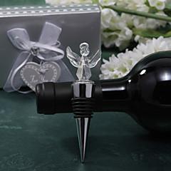 olcso -kristály angyal tervezés üveg dugóval