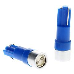 billige Interiørlamper til bil-T5 Bil Blå 0.5W Høyt Ytende LED Instrument lys