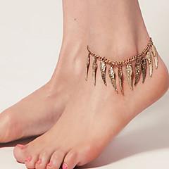 저렴한 -여자의 포도 수확 천사 날개 발목