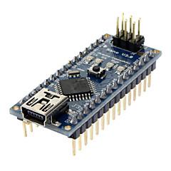 رخيصةأون -نانو V3.0 AVR ATmega328 ف 20AU مجلس الوحدة و أمبير؛ كابل USB لاردوينو الأزرق + الأسود