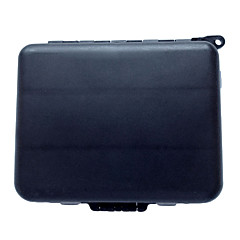 cheap Fishing Tackle Boxes-pcs Fishing Tackle Box Black g/Ounce mm inch,Hard Plastic