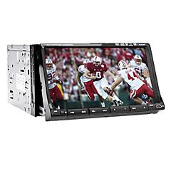 billiga DVD-spelare till bilen-Chtechi 7303 7 tum 2 Din Windows CE 6.0 / Windows CE In-Dash DVD-spelare Inbyggd Bluetooth / GPS / RDS för Universell Stöd / 3D-gränssnitt / Rattstyrning / Subwoofer-utgång / Pekskärm / SD / USB-stöd
