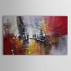 Hånd-malede Abstrakt Horisontal,Traditionel Et Panel Kanvas Hang-Painted Oliemaleri For Hjem Dekoration