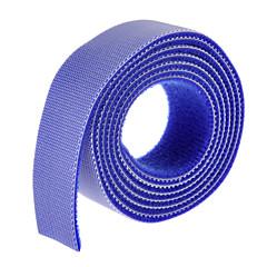 tanie Organizery kabli-magiczna taśma niebieska 100m * 20mm do zarządzania drutem