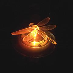RGB kleur veranderende led Solar Water Landschap Light Water Floating Light Garden Light Ontwerp van de Vlinder