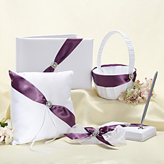 Wedding Collection Splendor Set Com Roxo Sash (5 Pieces)