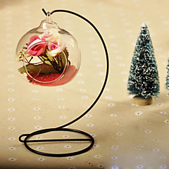 cheap -Table Centerpieces Round Hanging Glass Vase  Table Deocrations