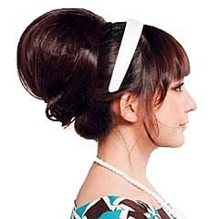 billiga Peruker och hårförlängning-Korta Lång Syntetiskt hår HÅRFÖRLÄNGNING Lockigt Klassisk Klämma In / På 1st Annat Dagligen Hög kvalitet Dam Syntetiska utsträckningar