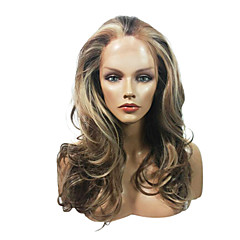 お買い得  人工毛ウィッグ-女性用 ウェーブ カーニバルウィッグ ハロウィンウィッグ レースウィッグ 日常