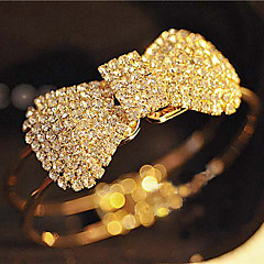 cheap -Full Crystal Bowknot Bangle Bracelet Christmas Gifts
