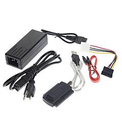 USB 2.0 to IDE SATA S-ATA 2.5 3.5 HD HDD Adapter Cable(5 pcs)