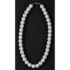 Пряди Ожерелья Искусственный жемчуг Свадьба / Повседневные Бижутерия