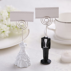 Iron Resin Place Card Holders 1 Standing Style PVC Bag Wedding Reception