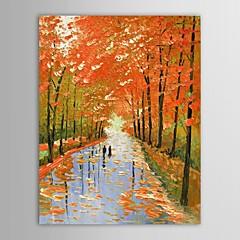 Kézzel festett Landscape Egy elem Vászon Hang festett olajfestmény For lakberendezési