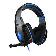 billiga Over-ear-hörlurar-KOTION EACH Över örat / Headband Kabel Hörlurar Plast Mobiltelefon Hörlur mikrofon headset