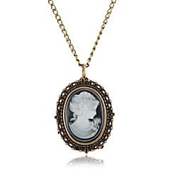 Pentru femei Ceas La Modă Ceas colier Quartz Aliaj Bandă Vintage Bronz