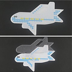 1PCS Template Clear Perler Beads Pegboard Plane Pattern for 5mm Hama Beads Fuse Beads