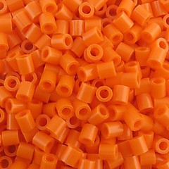 cca 500pcs / sac 5mm portocalii Margele Perler fuziona margele margele HAMA diy Jigsaw eva materiale Safty pentru copii
