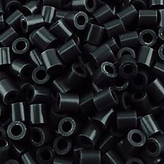 aproximativ 500pcs / sac de 5 mm margele Perler negre siguranțe margele margele HAMA DIY puzzle eva safty materiale pentru copii
