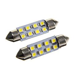 billige Interiørlamper til bil-SO.K Bil Elpærer W SMD 3528 40lm lm interiør Lights ForUniversell
