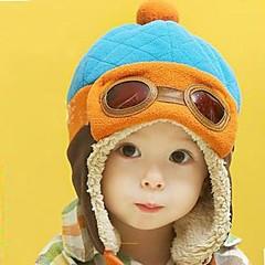 baratos Acessórios para Crianças-Capéus e Bonés Todas as Estações Acrílico Marron Vermelho Azul Rosa claro