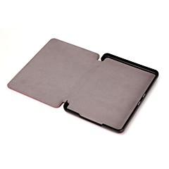 恥ずかしがり屋のクマ™アマゾン新Kindleのための磁石の革カバーケース2014 6インチの電子ブックアソートカラー